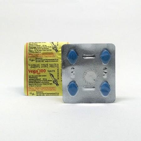 Vega 100 Mg Sildenafil Citrate